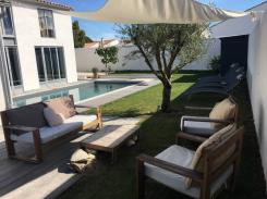 ile de ré House with garden heated pool