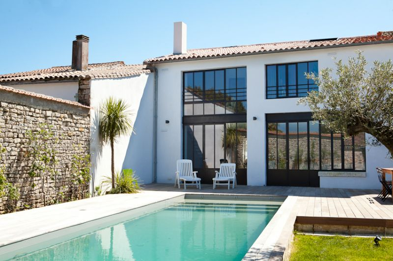 Ile de re holiday rentals : Luxury boutique house with heated pool
